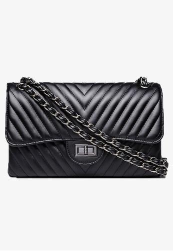 Trendyshop black Elegant Shoulder Bag D5F67AC01FD517GS_1