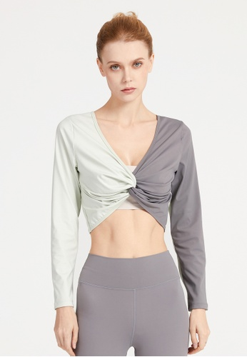 HAPPY FRIDAYS Women's Yoga Long Sleeve Tees DK-TX23 07F98AA0AD94BEGS_1