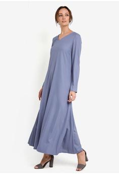 Maxi dress muslimah murah online movies