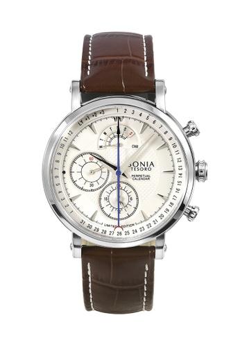 Bonia Watches silver Bonia Men Tesoro Limited Edition BNB10448-1312LE 52428ACC6C0A5AGS_1