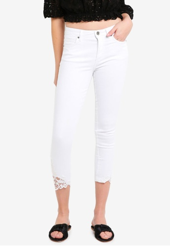 OVS white Cropped Jeans 5703CAAAAC2014GS_1