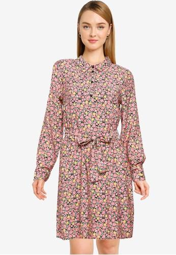 Vero Moda pink Ellie Mini Dress 310FDAA4360A19GS_1