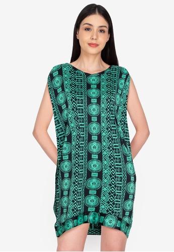 Chictees green Ruby Shirtdress 2D811AAA21DC5CGS_1