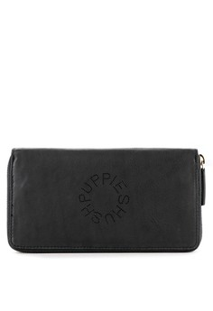 Hush Puppies navy Perfy Long Zip Purse A0F06AC3380979GS 1 afef6a641a
