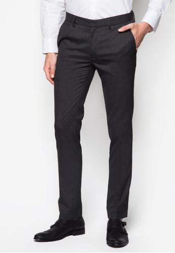 Topman 灰色 Charcoal Ultra Skinny Trousers TO250AA56SDZSG_1
