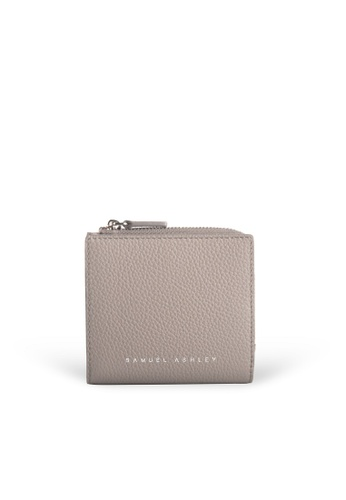 Samuel Ashley grey Flora Zip Around Wallet - Grey 7369AACBCC868AGS_1