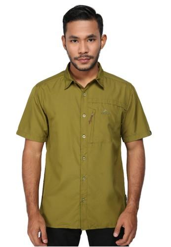 Eiger green Gravel 1.0 Shirt 3EF8AAAA72BF65GS_1