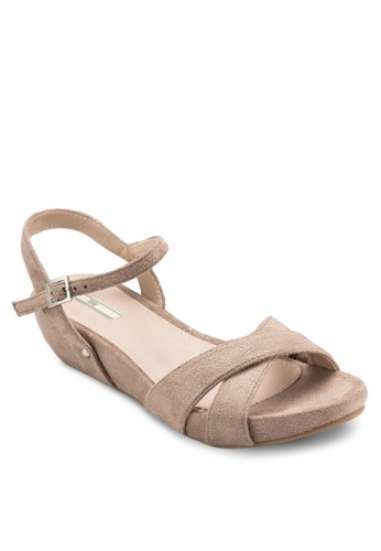 楔型跟休閒涼鞋, 女鞋,esprit outlet 台灣 楔形涼鞋