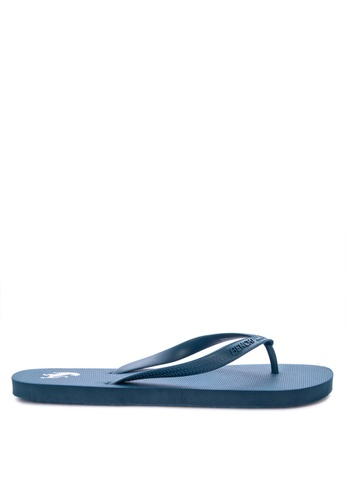 BENCH blue Rubber Slippers 93DA6SH2673508GS_1