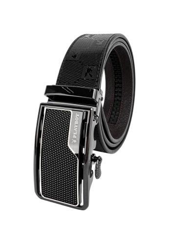Playboy black 35mm Automatic Belt 57C20AC8AFB755GS_1