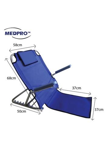 MEDPRO Foldable Adjustable Backrest with Removable Armrest 5DA1BHL1D9BF20GS_1