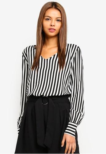 ee167530 Shop JACQUELINE DE YONG Isha Blouse Online on ZALORA Philippines