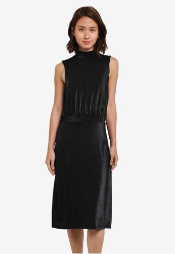 Selected Femme black SFSTELLA SL DRESS SE157AA0S5QSMY_1