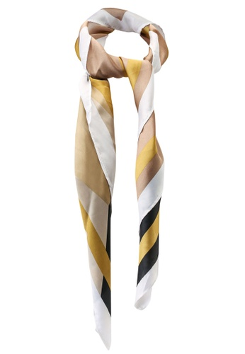 Rubi beige Airlie Large Headscarf 41792AC1AB1F2BGS_1