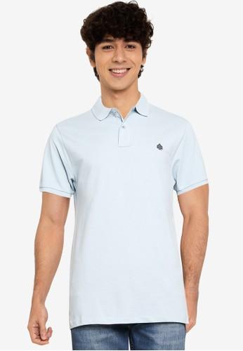 Springfield blue Essential Slim Polo Shirt 02167AA6CA8803GS_1