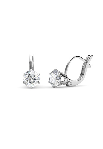 Her Jewellery silver Her Jewellery Casa Earrings with 18K Gold Plated F02C7AC9EC7C9AGS_1