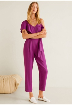 fa224c8c181 60% OFF Mango Frilled Long Jumpsuit S  99.90 NOW S  39.90 Sizes XL