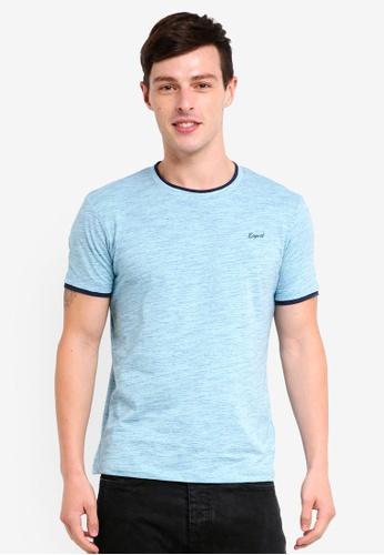 ESPRIT 綠色 短袖T恤 AFB9CAA36BD907GS_1