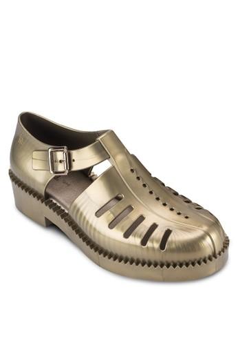 Aranha 79 16 鏤空扣環厚底低跟休閒鞋, 女esprit 衣服鞋, 鞋