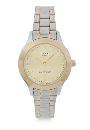 Casio gold and silver Casio Women LTP-1128G-9ARDF Silver Gold A7C37AC74D2F24GS_1