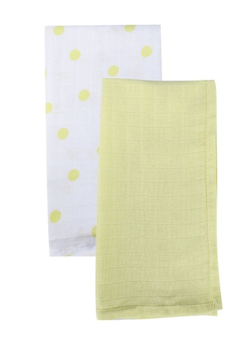 LC Waikiki beige 2-pack Baby Girl's Burp Cloth BD23BKCFAA42ECGS_1
