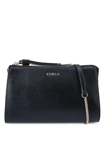 Furla black Luna XL Crossbody Pouch E0B1BAC4437CA3GS_1