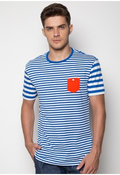 Gaston (MG-34) Striped Tee