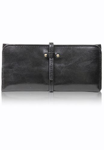 Dazz black Calf Leather Modern Wallet - Black  DA408AC0RA1ZMY_1