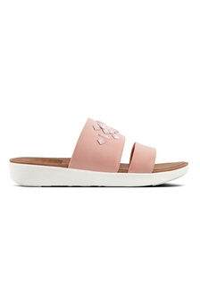 e459533aa4e8 Fitflop Delta Leather Slide Sandals - Crystal (Dusky Pink)  1FCFBSH888F127GS 1