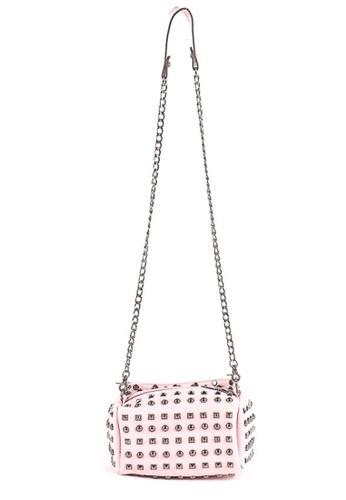 House of Bai pink Rockstar Dual Shoulder Bag HO716AC0K2SNPH_1
