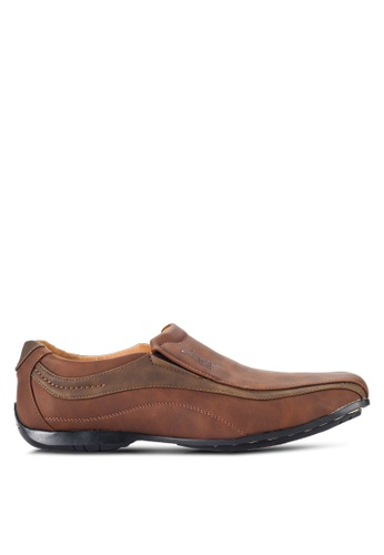 Louis Cuppers brown Casual Loafers LO977SH59RCAMY_1