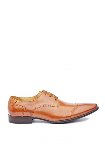 Kings Collection brown Maddox Oxford Shoes 394F7SH4E92303GS_1