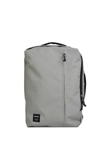 Hellolulu grey Dillon – 3 Way Backpack 01ECCAC6252647GS_1
