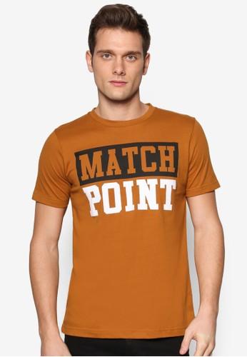 文字設計短袖TEE, 服飾,esprit 品牌 印圖T恤