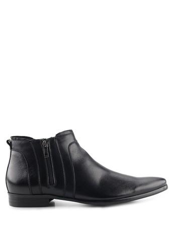 S.Baldo black Parker Formal Boots SB324SH08SWTID_1