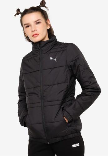 PUMA black Women's Essential Padded Jacket 09923AAF5B978DGS_1