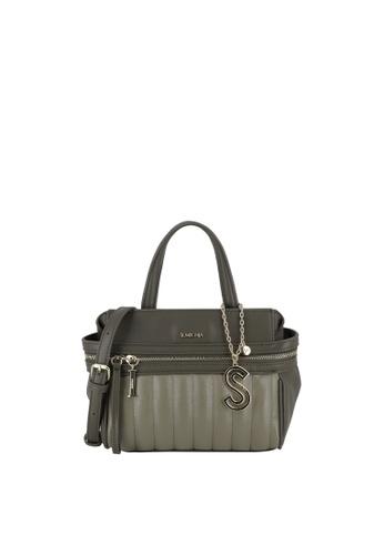 SEMBONIA green Top-Handle Satchel Bag 50070AC5CE7E5AGS_1