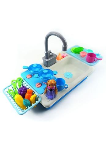 Happy Toon Frozen 2 Kitchen Sink Toy Mainan Wastafel Cuci Piring NB-04317 4FF91THC02AD26GS_1