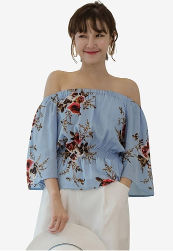 938e9d6b7af663 Buy Tokichoi Floral Off Shoulder Top Online on ZALORA Singapore