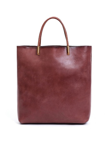 Twenty Eight Shoes Vintage Cow Leather Tote Bags QY8749 E40FDACD8DD2F0GS_1