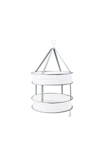 HOUZE HOUZE - 2 Tier Mesh Laundry Drying Basket F0396HL91BDD44GS_1