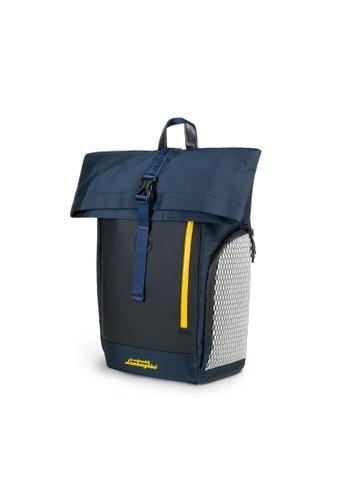 Lamborghini blue Automobili Lamborghini® Galleria Blue Backpack D51BAAC63E70BBGS_1
