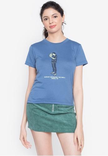 Artwork blue Nevermind T-Shirt CB2F0AA92DB4DFGS_1