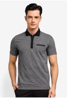 41bcf25a G2000 black Pocket Detail Polo Shirt 7C9DFAAF7AC166GS_1