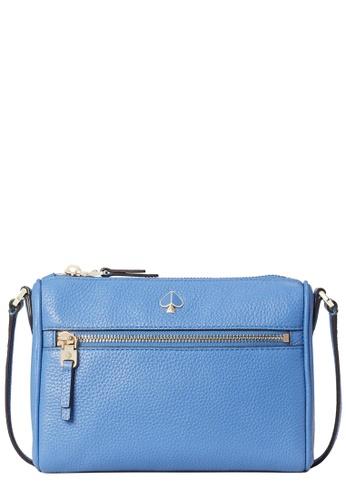 Kate Spade blue Kate Spade Polly Small Crossbody Bag in Deep Cornflower D0CF4AC0E625C9GS_1
