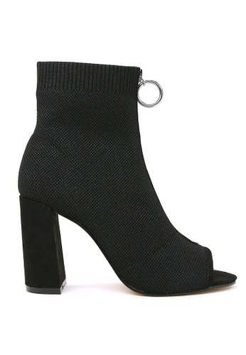 e7d4910bb Shop London Rag Peep Toe Block Heel Sandal Online on ZALORA Philippines