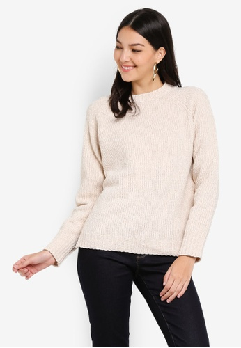 Buy Dorothy Perkins Blush Tinsel Jumper Online on ZALORA Singapore b7cede29a