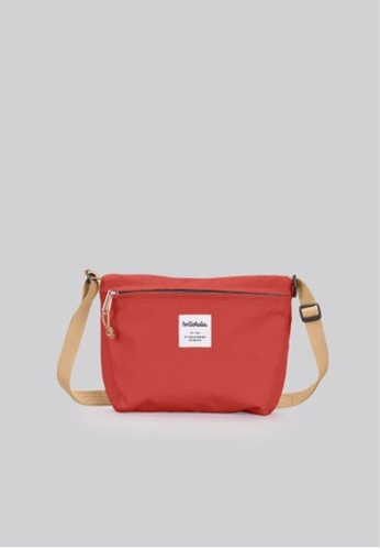 Hellolulu red Cana Compact Utility Bag 8627DAC014DD8CGS_1