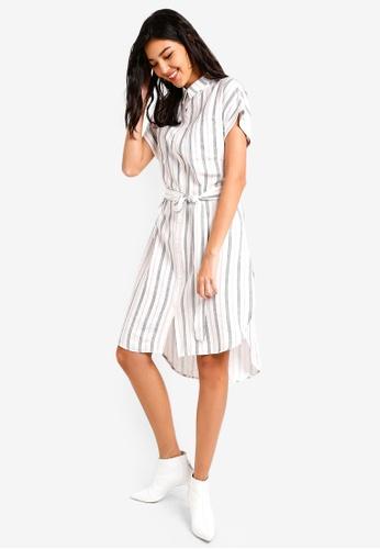 ZALORA multi Fit and Flare Shirt Dress F9D22AA0D1BC79GS_1