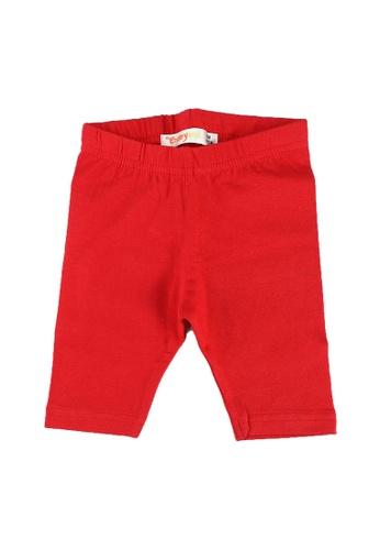 Babybol red Pants D4B9FKABEE7878GS_1